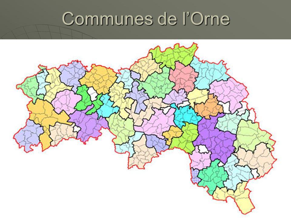 Communes de lOrne