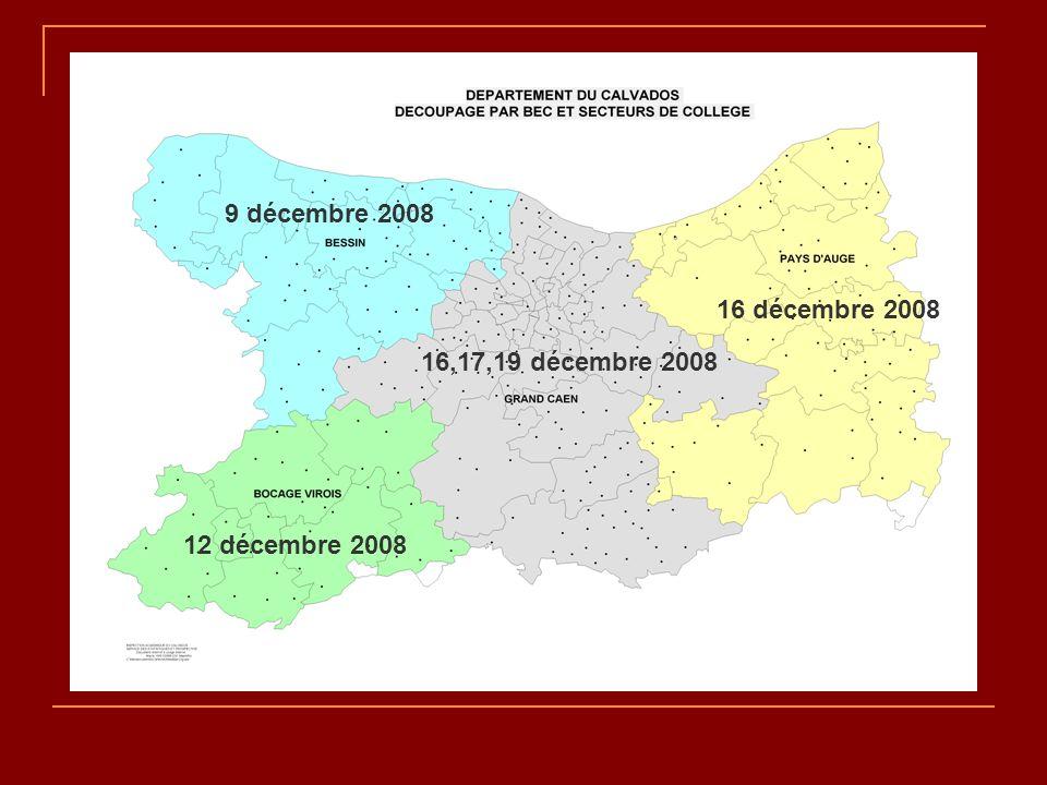 9 décembre 2008 16 décembre 2008 16,17,19 décembre 2008 12 décembre 2008