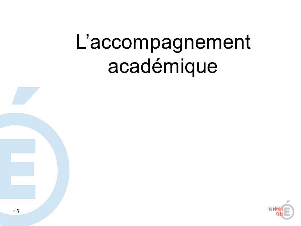 48 Laccompagnement académique