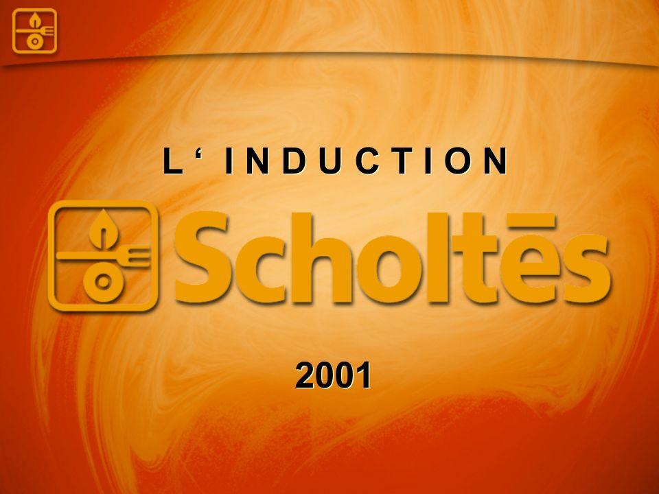 SCHOLTES : l induction 19791979 : l IS 2000 1ère table induction en France Boîtier de commandes décentralisable 150 mm d épaisseur Déjà très en avance