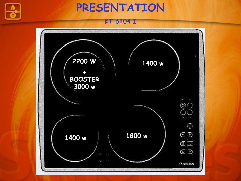PRESENTATION KT 6104 I 2200 W + BOOSTER 3000 w 1400 w 1800 w