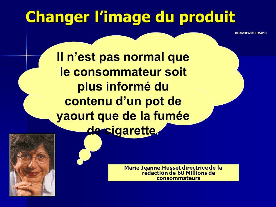 Changer limage du produit Marie Jeanne Husset directrice de la rédaction de 60 Millions de consommateurs Il nest pas normal que le consommateur soit p