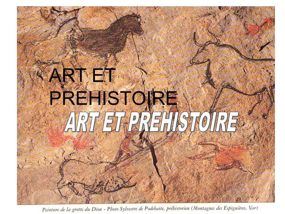 ART ET PREHISTOIRE
