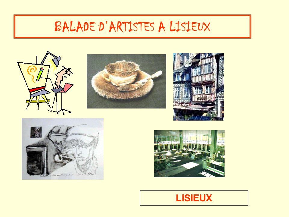 LISIEUX BALADE DARTISTES A LISIEUX
