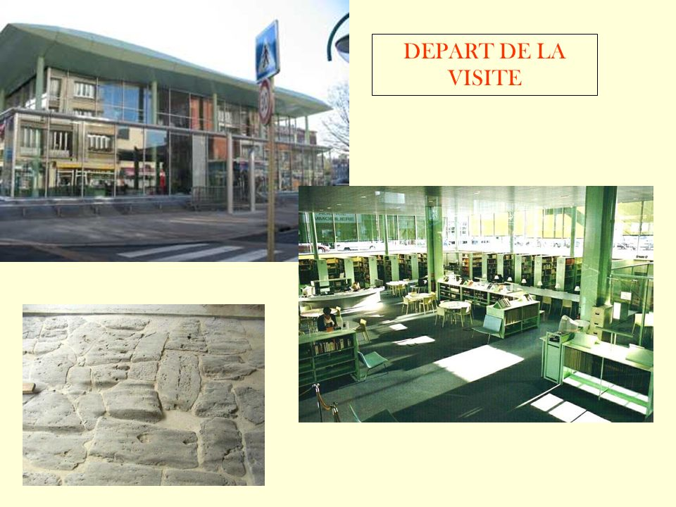 DEPART DE LA VISITE