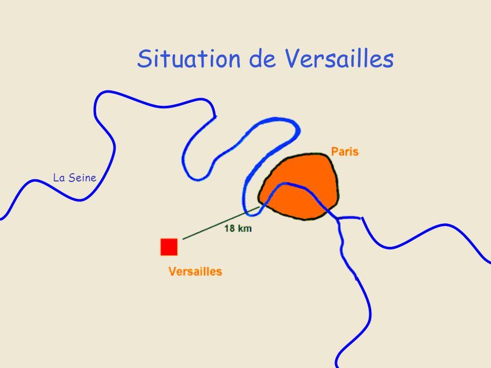 Situation de Versailles La Seine