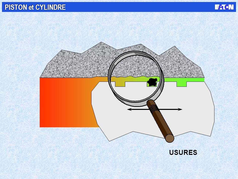 PISTON et CYLINDRE Haute pression Basse pression