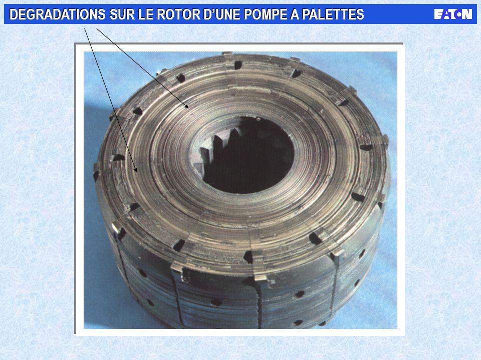 DEFAILLANCES DES SYSTEMES HYDRAULIQUES Les mauvaises conditions de filtration sont à lorigine denviron 70 à 90% des défaillances hydrauliques DEFAILLA