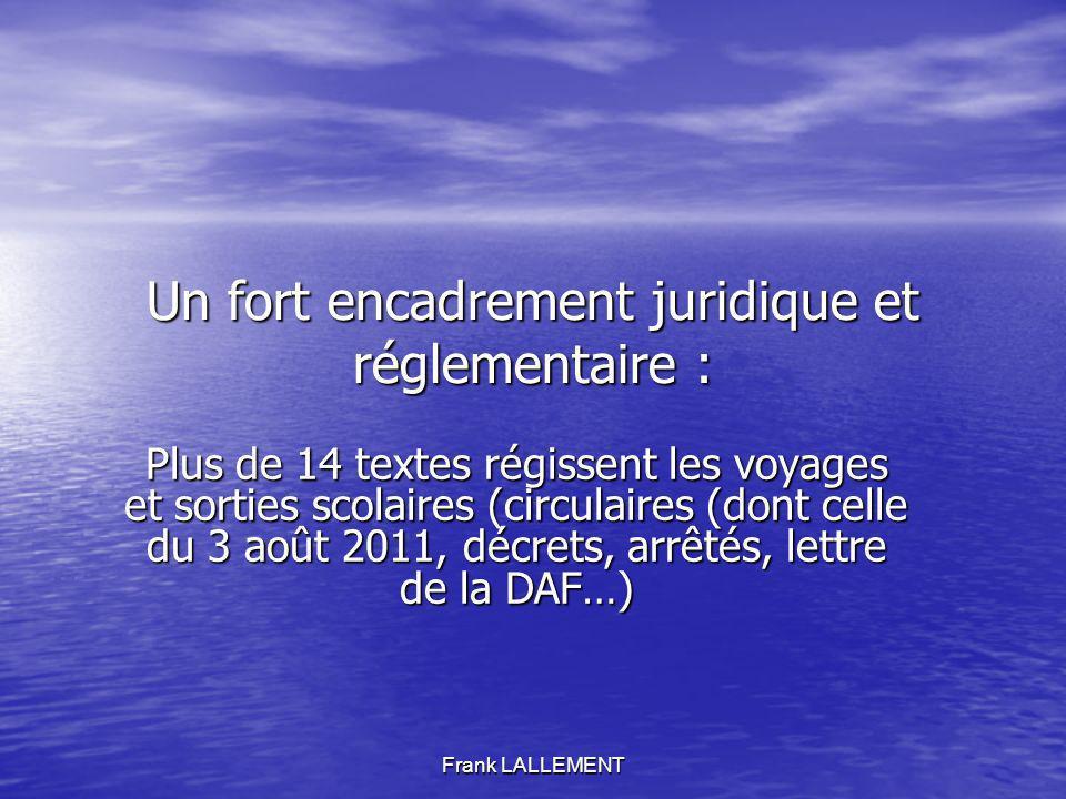 Frank LALLEMENT Les Régies. Une souplesse de fonctionnement alliée à un impératif réglementaire.