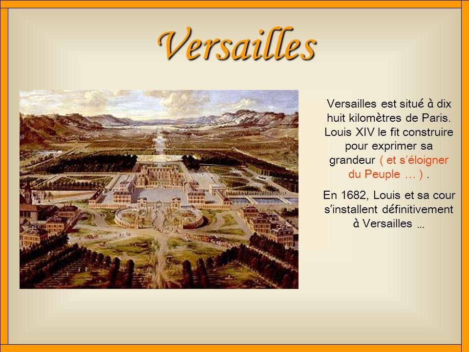 Bonjour, Bonjour ! Cest Lucie Grard et Alice Morillon ! Nous allons vous présenter le château de Versailles … Nous sommes en 4 e B … … et le Vendredi