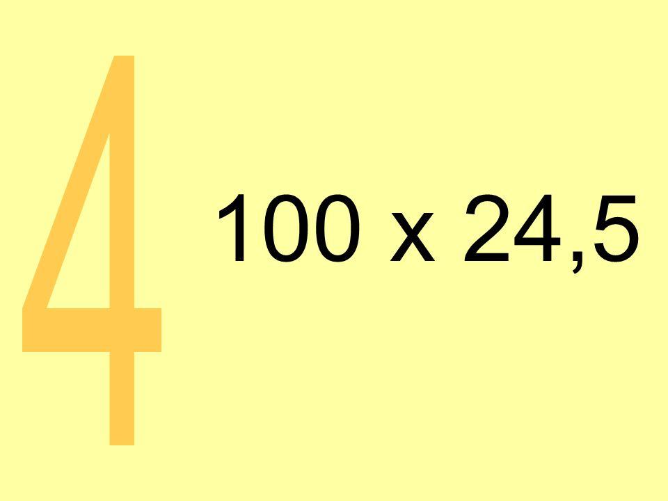 100 x 24,5