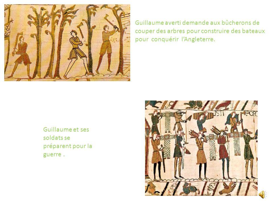 Harold est sacré roi dAngleterre, il ne respecte pas son serment fait à Guillaume. Le passage de la comète est un mauvais présage pour Harold.