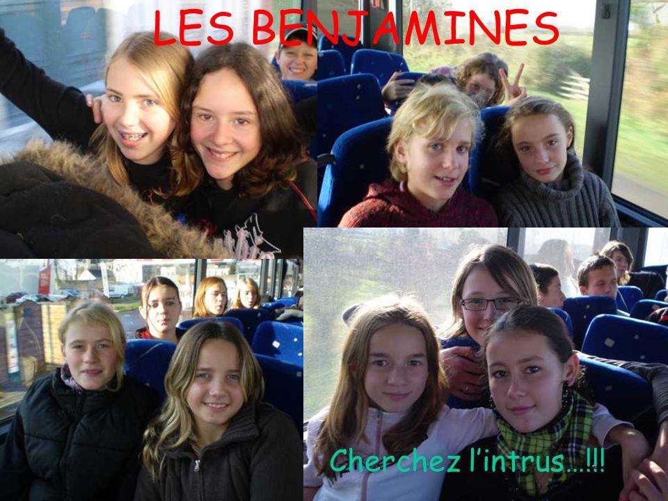 LES BENJAMINES Cherchez lintrus…!!!