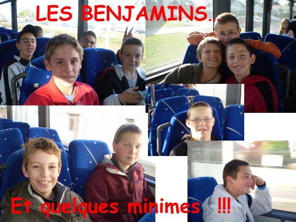 LES MINIMES…FILLES !!!