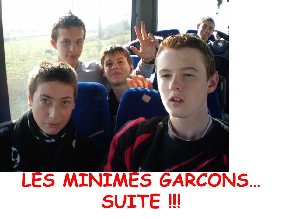 LES MINIMES GARCONS… SUITE !!!
