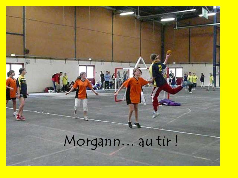Morgann… au tir !