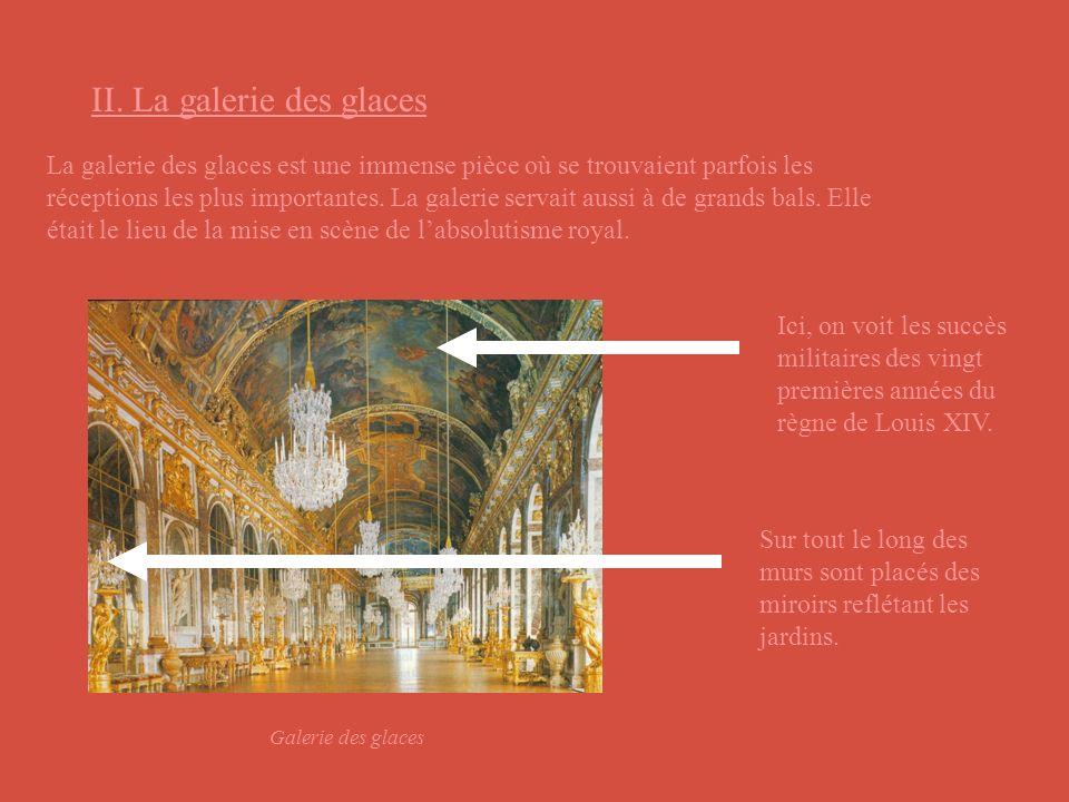 Les jardins ont été conçus à la gloire du roi Soleil, Louis XIV ( il faudrait le montrer ).