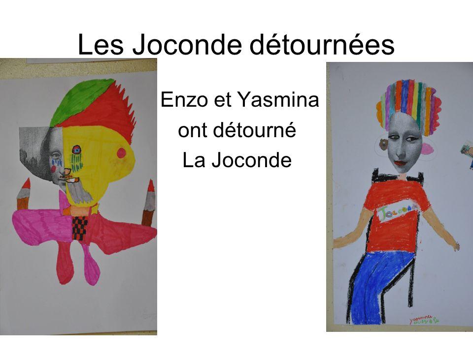 Les Joconde détournées Enzo et Yasmina ont détourné La Joconde