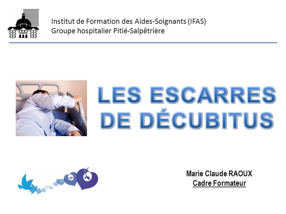 Institut de Formation des Aides-Soignants (IFAS) Groupe hospitalier Pitié-Salpêtrière Marie Claude RAOUX Cadre Formateur
