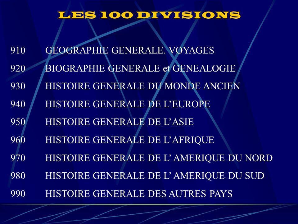 910 GEOGRAPHIE GENERALE.