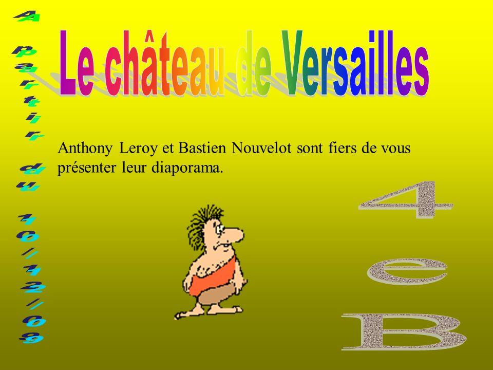Anthony Leroy et Bastien Nouvelot sont fiers de vous présenter leur diaporama.