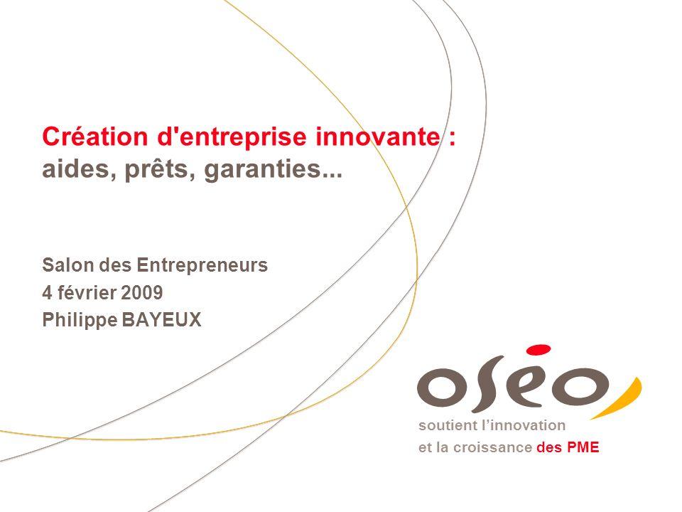4 février 2009Salon des Entrepreneurs 2009 12 Une complémentarité entre les interventions