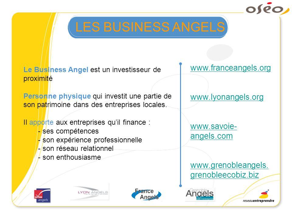 Le Business Angel est un investisseur de proximité Personne physique qui investit une partie de son patrimoine dans des entreprises locales. Il apport