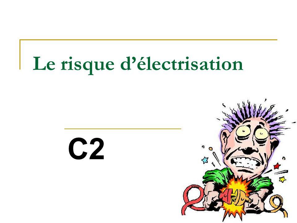 III Les effets de lélectrisation Contraction musculaire Arrêt respiratoire Arrêt cardiaque… …Cest électrocution .