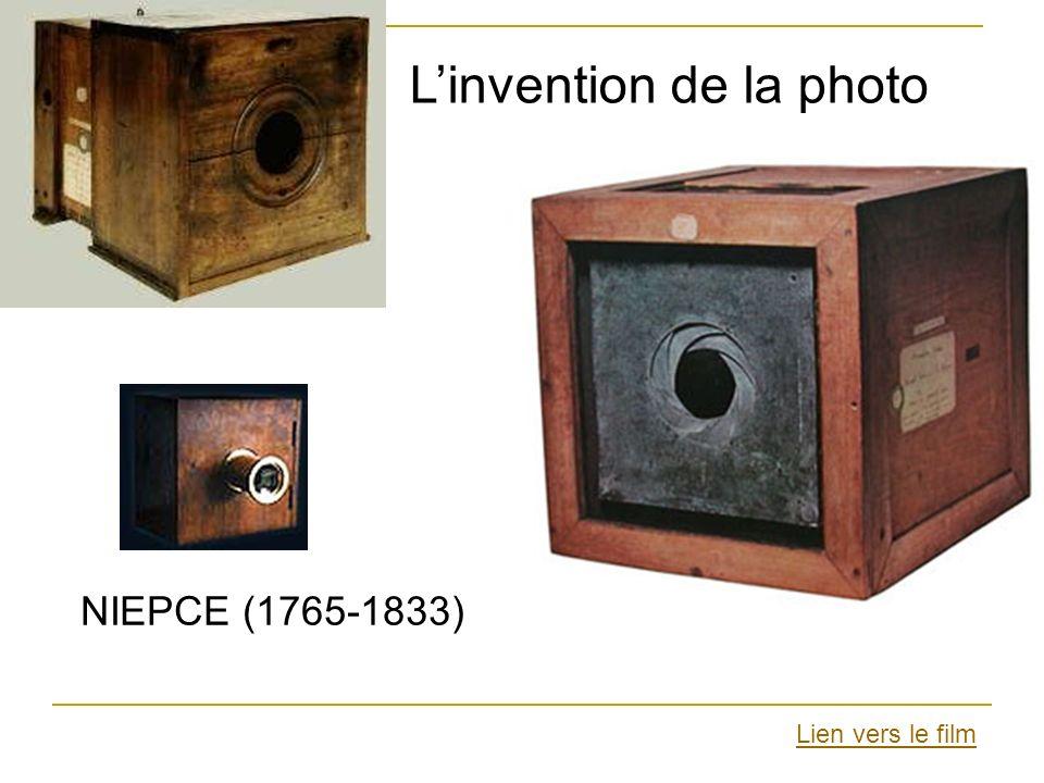 NIEPCE (1765-1833) Linvention de la photo Lien vers le film