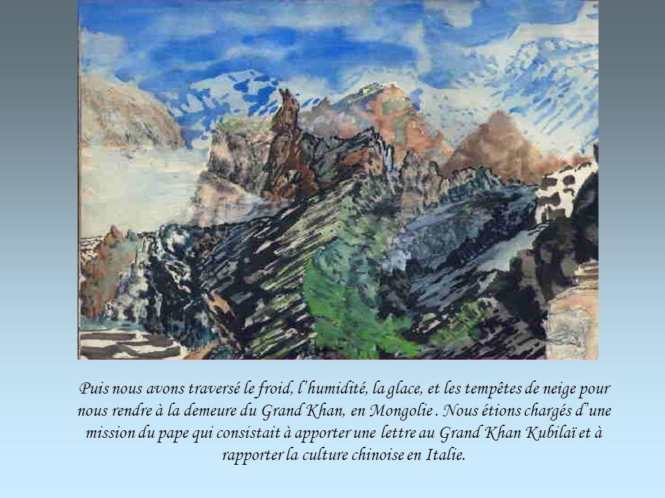 Nous avons traversé le chaud, la sécheresse et les tempêtes de sable dans le désert de Takla Makan avant de nous retrouver devant les monts du Pamir