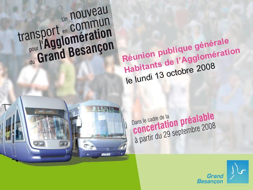 Réunion publique générale Habitants de lAgglomération le lundi 13 octobre 2008