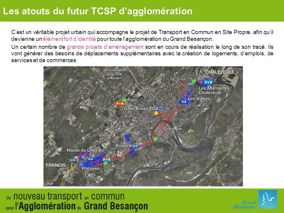 Cest un véritable projet urbain qui accompagne le projet de Transport en Commun en Site Propre, afin quil devienne un élément fort didentité pour tout