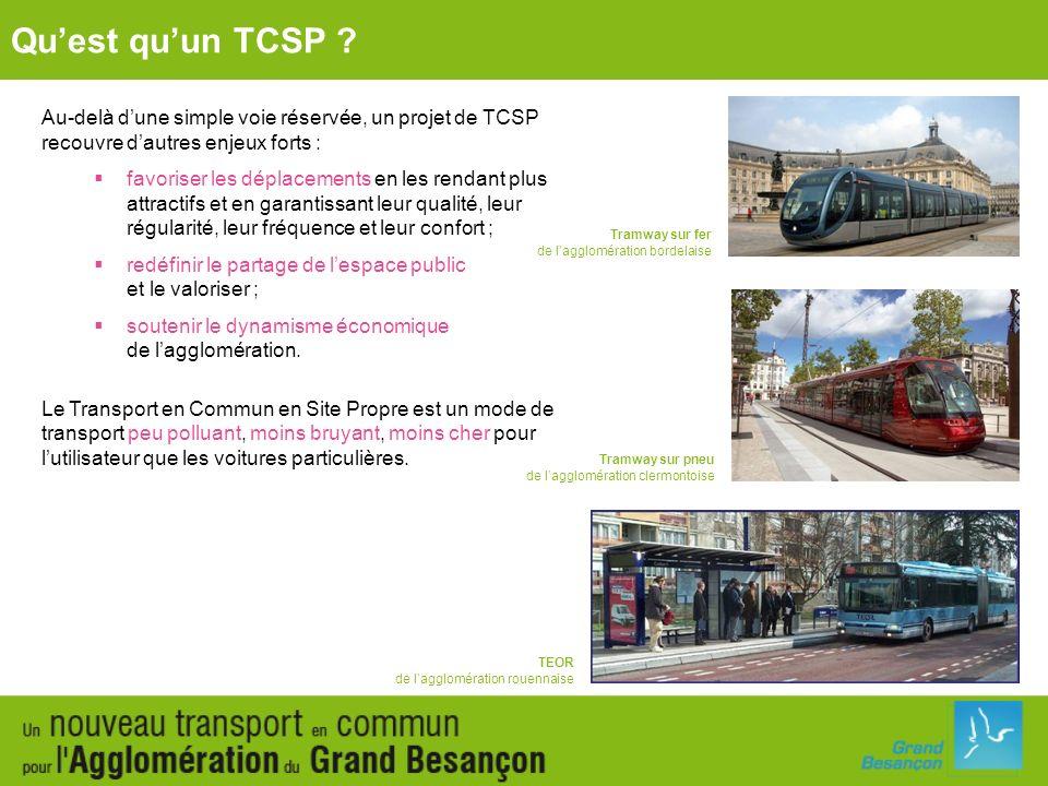 Appel à projets « TCSP » (hors Ile-de-France) de lEtat dans le cadre du Grenelle de lEnvironnement : Quest quun TCSP .