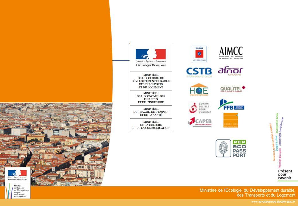 www.developpement-durable.gouv.fr Ministère de l'Écologie, du Développement durable, des Transports et du Logement