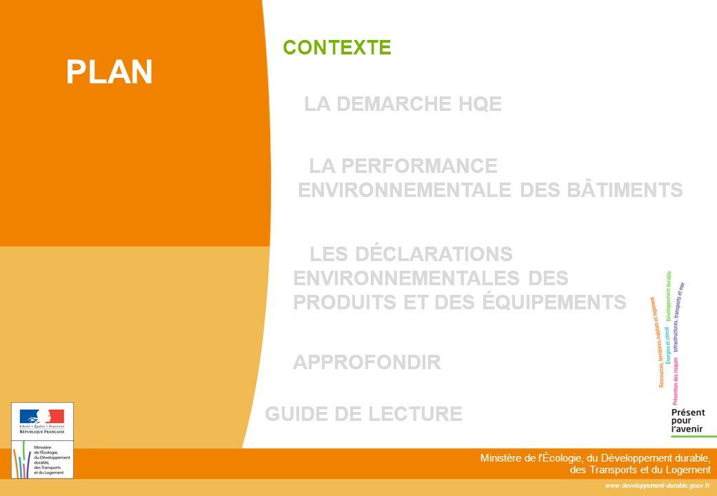 www.developpement-durable.gouv.fr Ministère de l'Écologie, du Développement durable, des Transports et du Logement LES DÉCLARATIONS ENVIRONNEMENTALES