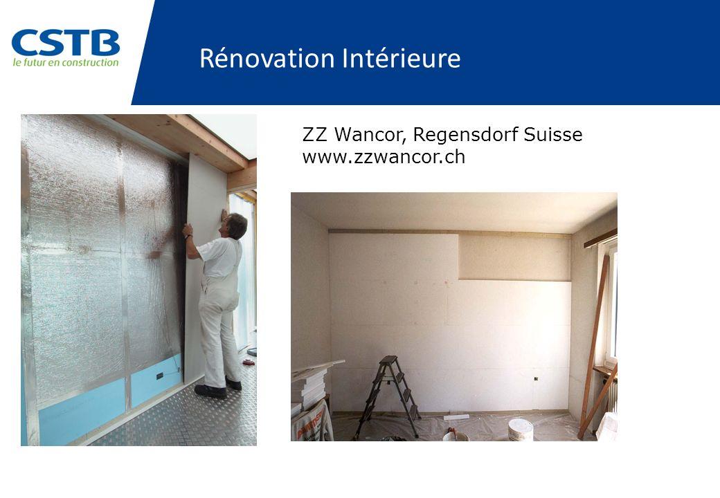 Rénovation Intérieure ZZ Wancor, Regensdorf Suisse www.zzwancor.ch