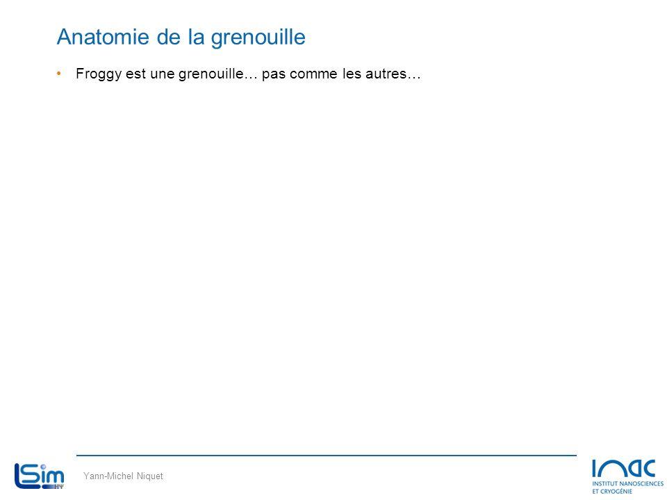 Yann-Michel Niquet Anatomie de la grenouille Froggy est une grenouille… pas comme les autres…