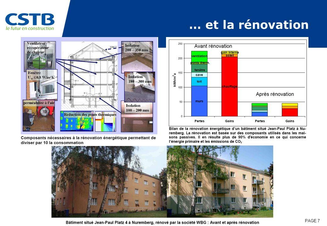 PAGE 7 … et la rénovation