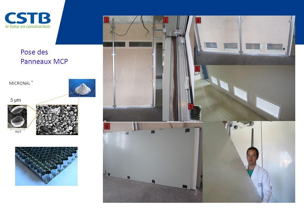 Pose des Panneaux MCP 5 µm MICRONAL ®