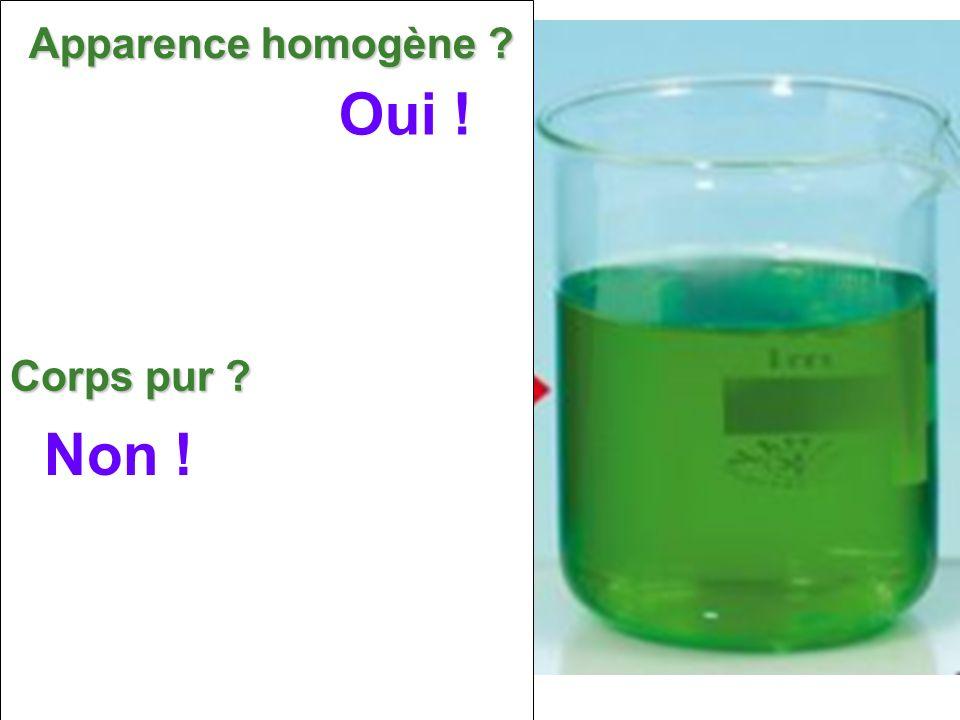 Eau salée Distillat (Eau pure) On introduit de leau salée dans un ballon et on la chauffe.