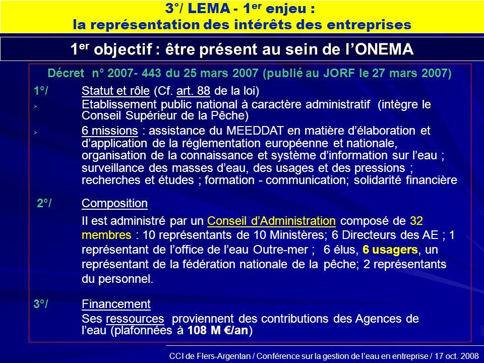 CCI de Flers-Argentan / Conférence sur la gestion de leau en entreprise / 17 oct.