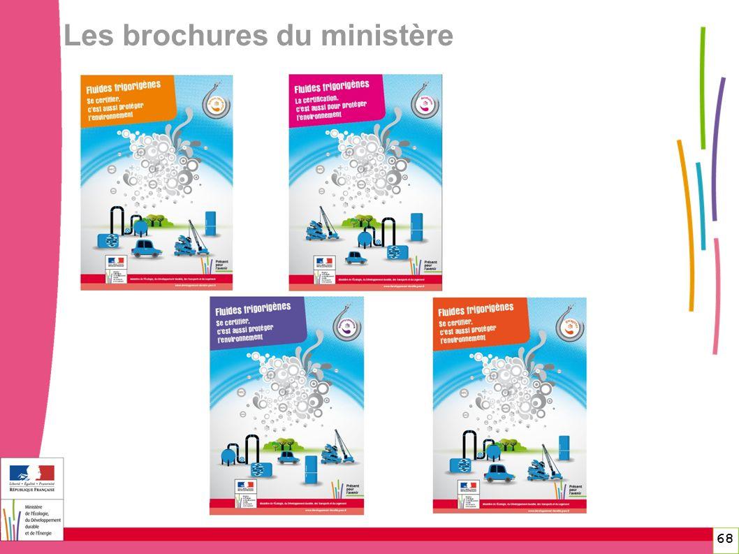68 68 Les brochures du ministère