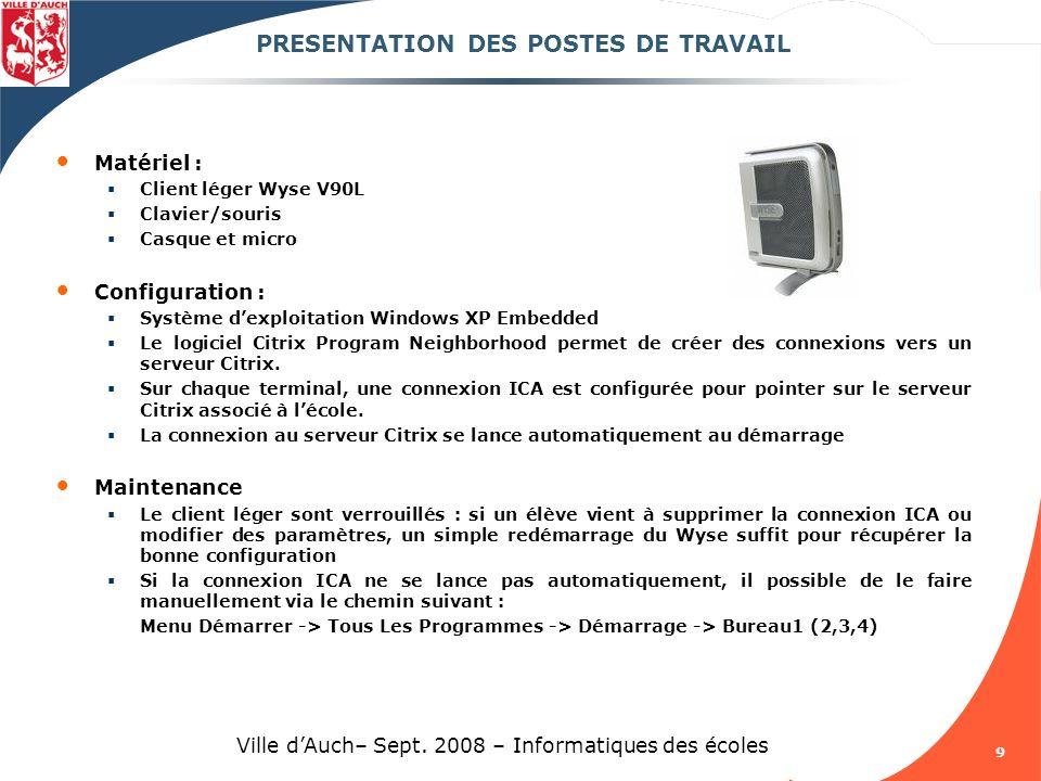 20 Ville dAuch– Sept.