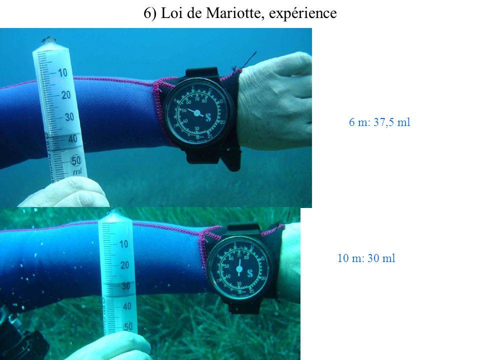 6 m: 37,5 ml 10 m: 30 ml