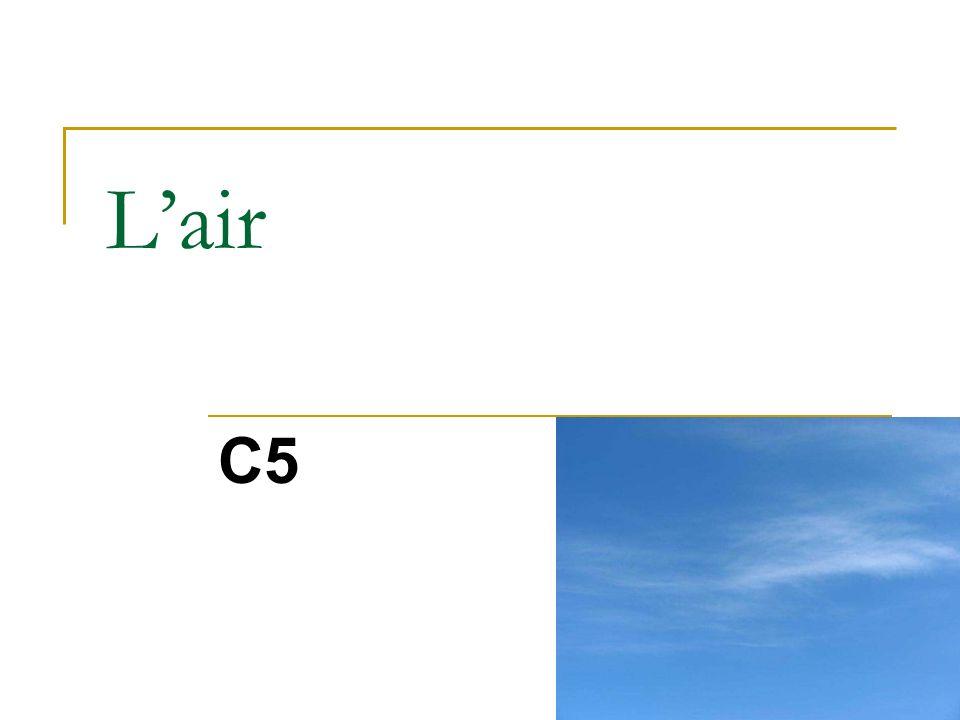 2) Pression de lair ? Manomètre TBI