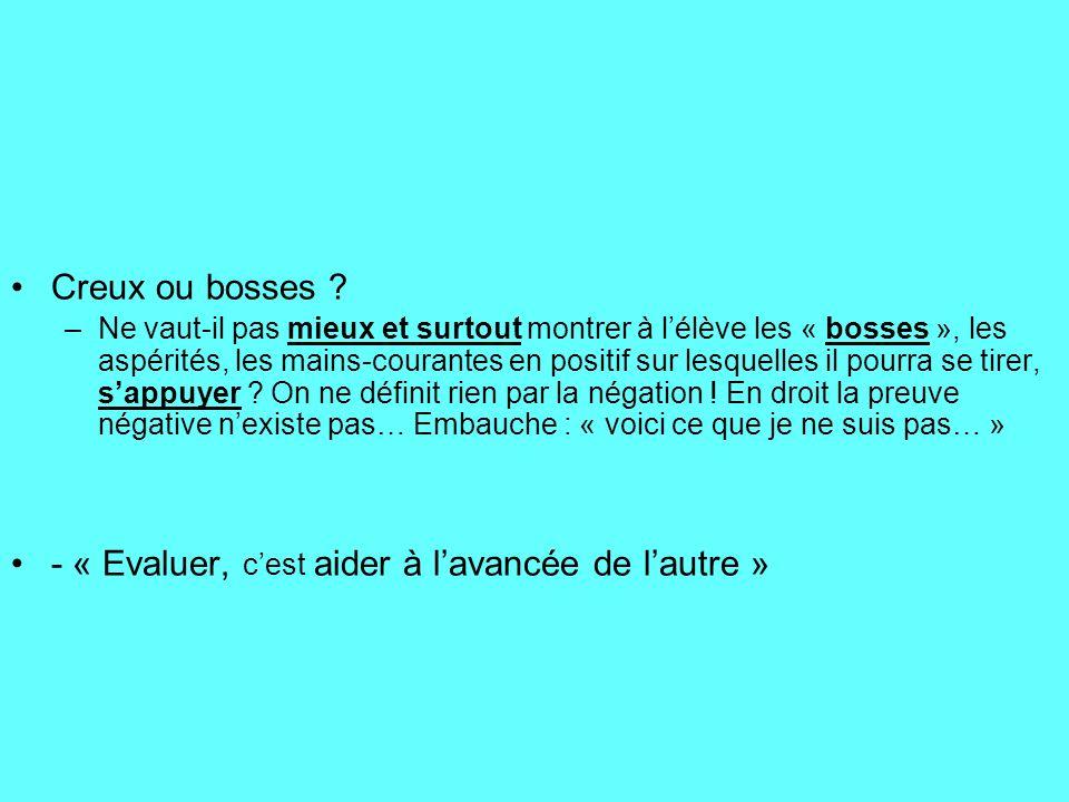 Comment accepter aujourdhui que certains professeurs névaluent pas lexpression française écrite et orale à chaque contrôle dans leur matière.