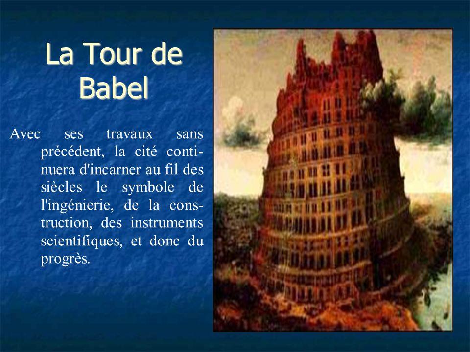 Après la chute de Jérusalem, Nabuchodonosor opère de profondes transformations dans la ville, en établissant un véritable projet d'urbanisme fondé sur