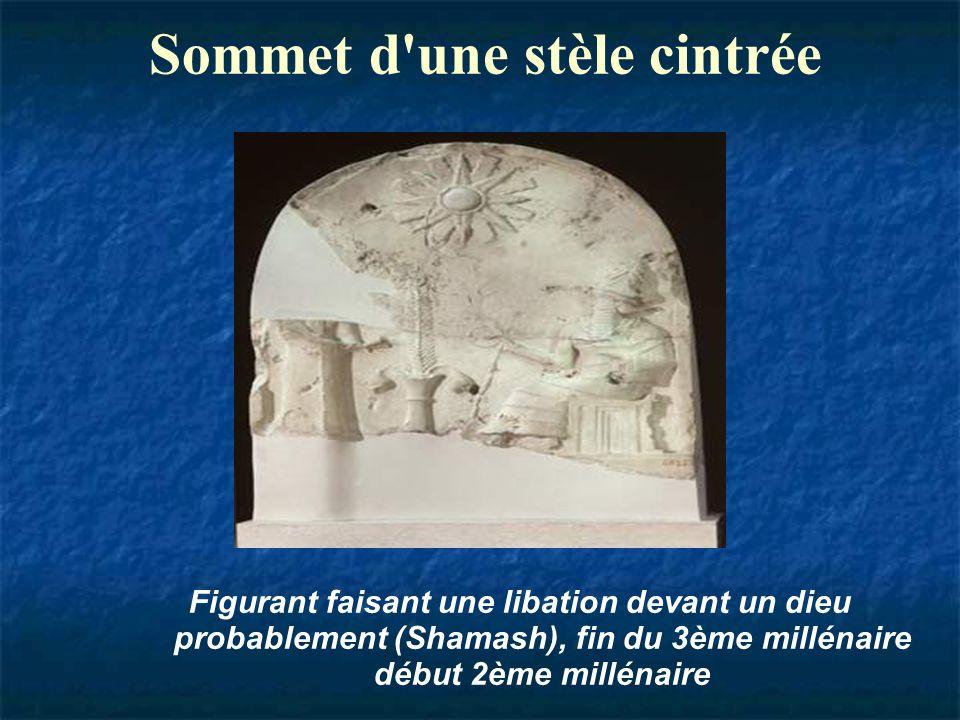 tablette d'argile H. 8,5 cm ; l 5,8 cm Chroniques des anciens mentionnant la haute antiquité de Babylone