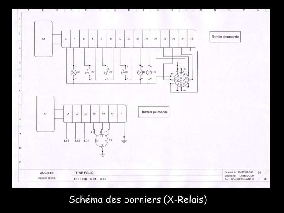 Schéma de puissance (X-Relais)