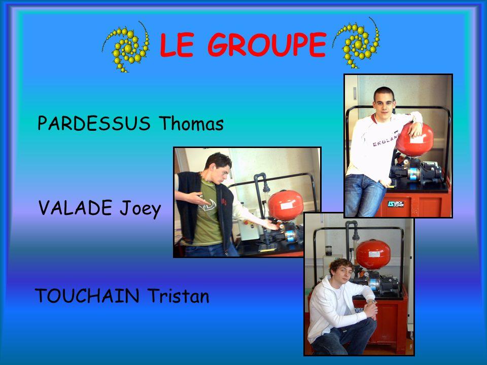 LE GROUPE PARDESSUS Thomas VALADE Joey TOUCHAIN Tristan